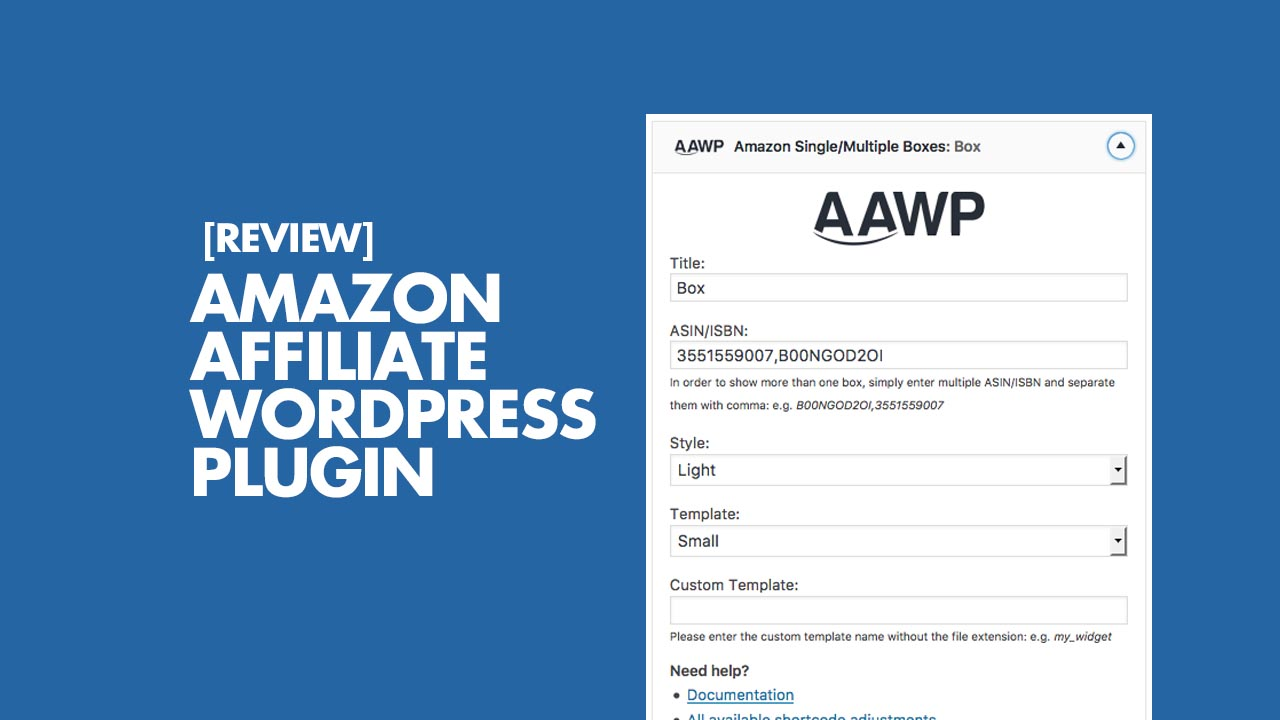 AAWP Online Marketing Tool