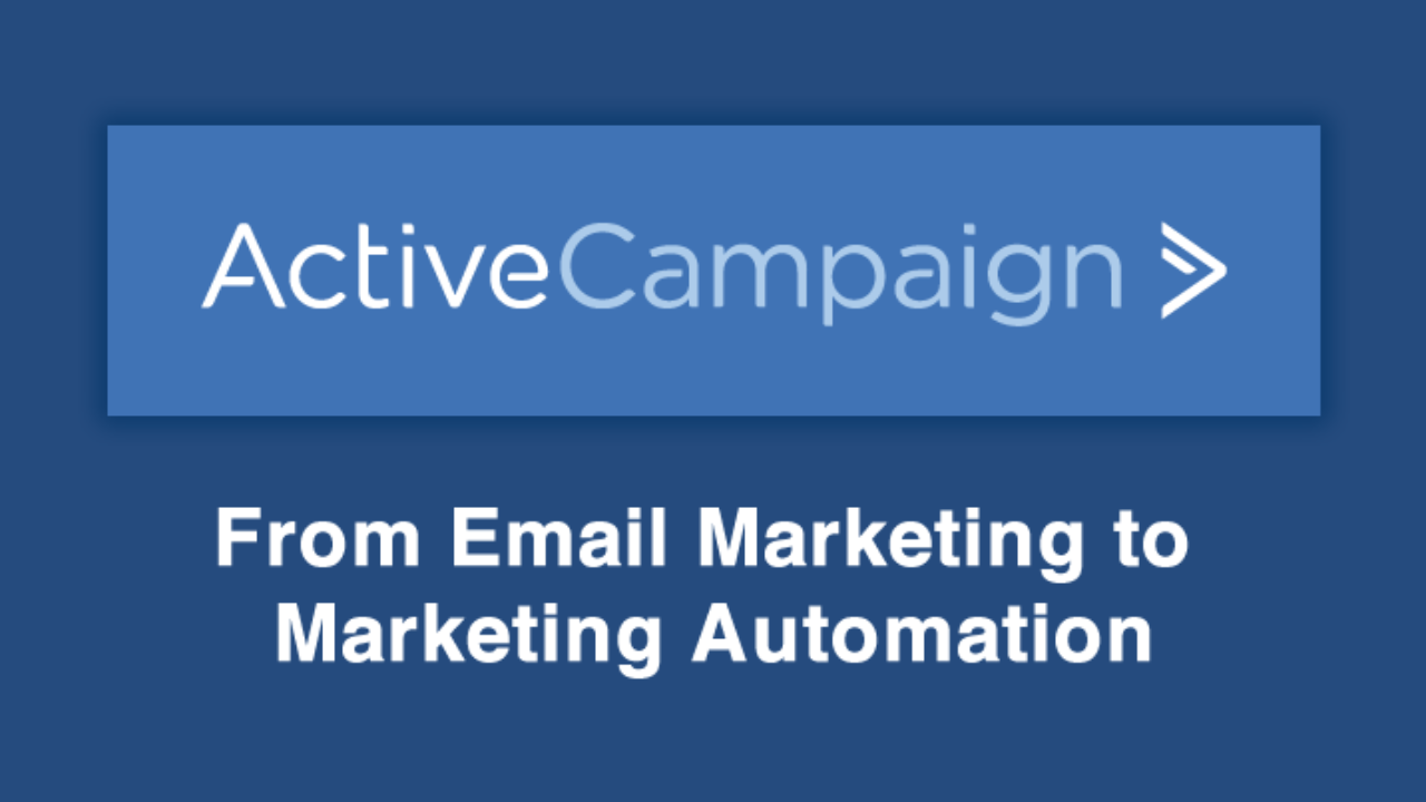 Active Campaign Email Automation Marketing Tool